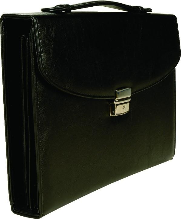 8c256fbd6aa4 Портфель кожзам Алекс 388 импортный черный Профи (11144)