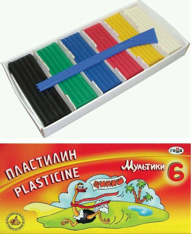 Коробка для пластилина